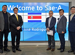 New ambassadors from Costa Rica, Nicaragua visit head office